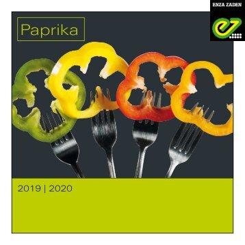 Brochure Paprika 2019 | 2020