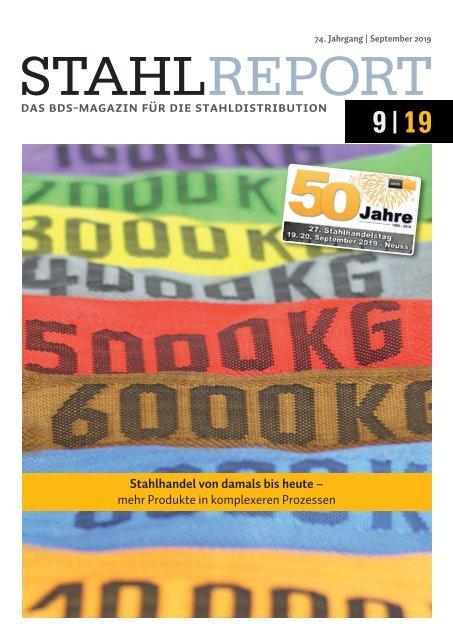 Stahlreport 2019.09