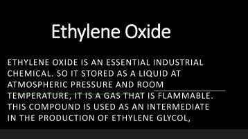 Ethylene Oxide-converted