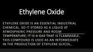 Prop 65 Ethylene Oxide Texas