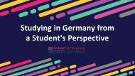 Know General View Related to Study in Germany