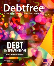 Debtfree Magazine August 2019