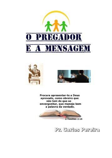 Pregador e a Mensagem