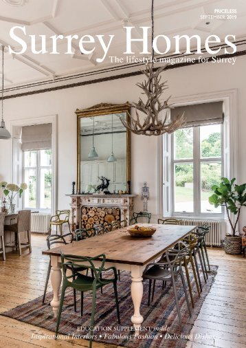 Surrey Homes | SH59 | September 2019 | Education supplement inside