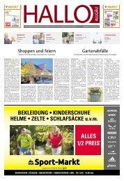 Hallo-Allgäu Memmingen vom Samstag, 31.August