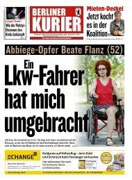 Berliner Kurier 30.08.2019