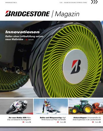 Magazin Innovationen - Bridgestone Aktion