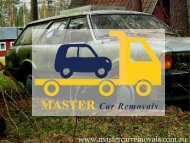 Car Removal Brisbane - Master Car Removals