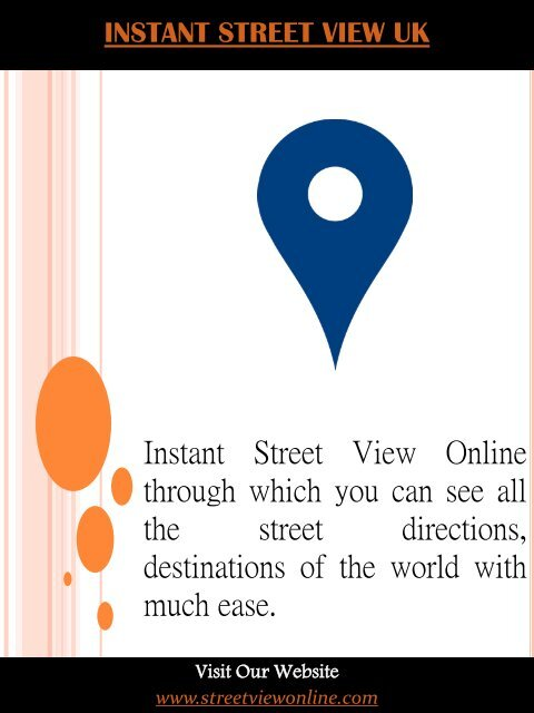 Google Maps Instant Street View