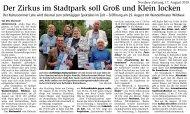 Vorbericht in der Nordsee-Zeitung vom 17. August 2019
