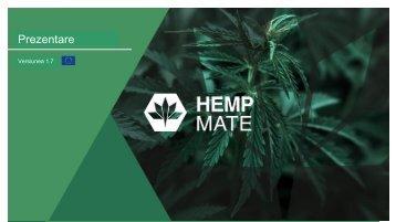 Prezentare parteneriat HempMate Romania