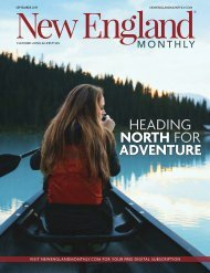 New England Monthly SEPTEMBER 2019