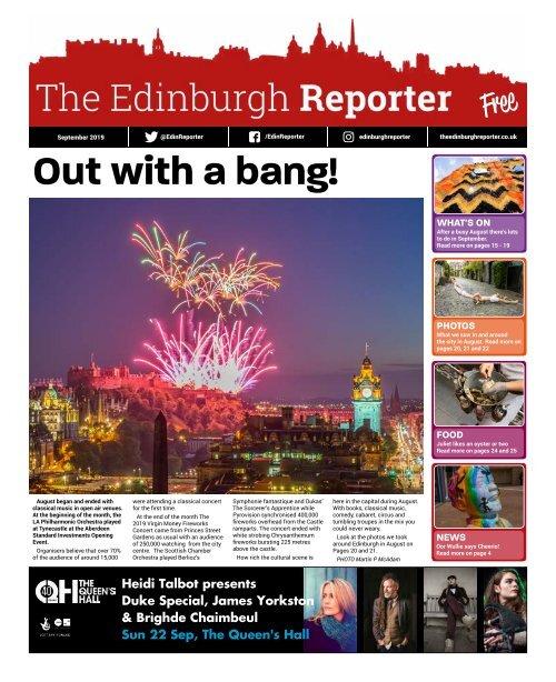 The Edinburgh Reporter September 2019