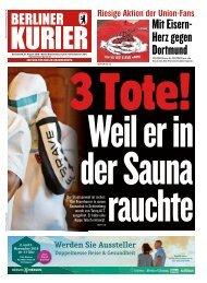 Berliner Kurier 31.08.2019