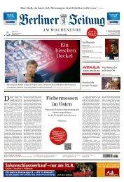 Berliner Zeitung 31.08.2019