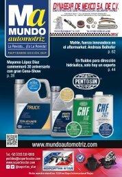Mundo Automotriz No. 282 Septiembre 2019