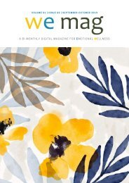 WE MAG - Volume 01, Issue 03  September-October 2019