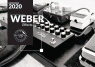 Weber Effects Catalogue 2020