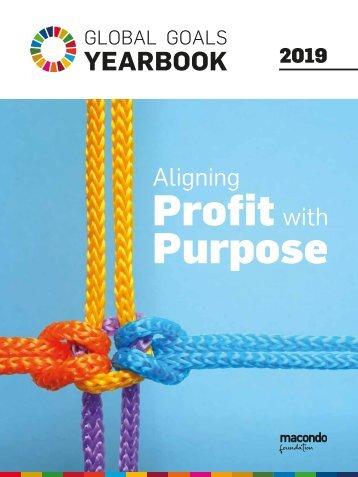 Aliging Profit with Purpose - Global Goals Yearbook 2019