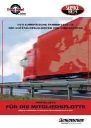 abrechnung einer pannenhilfe in deutschland durch ... - Truck Point