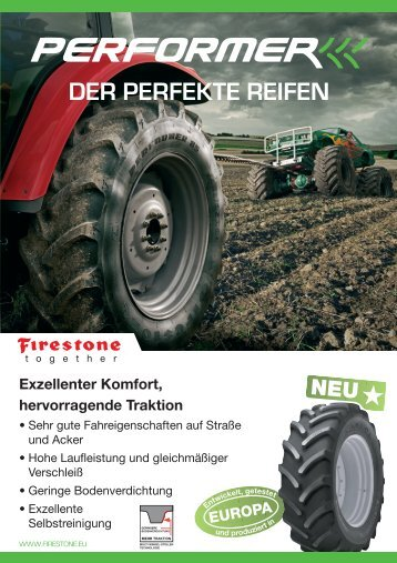 FIRESTONE Performer - Der Perfekte Reifen - agri point