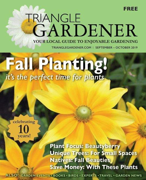 Triangle Gardener-September-October 2019