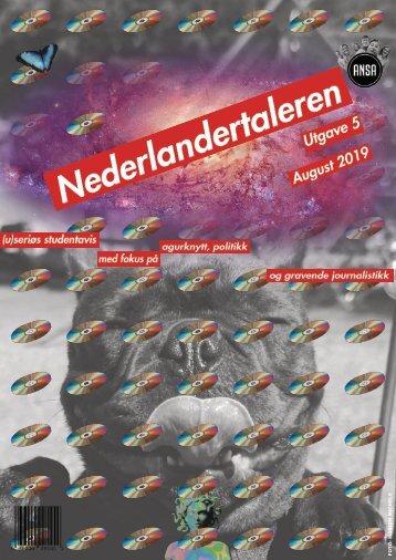Nederlandertaleren August Utgave5