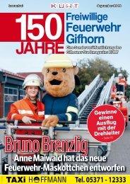 KURT Extrablatt: 150 Jahre Freiwillige Feuerwehr Gifhorn