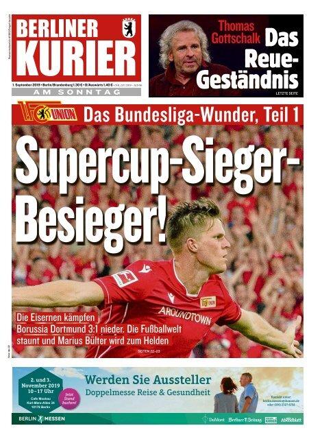 Berliner Kurier 01.09.2019