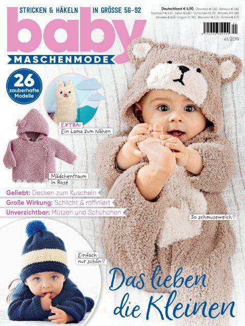 Baby Maschenmode Nr. 41/2019 - Blick ins Heft