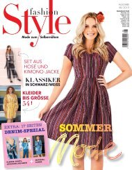Fashion Style 08/2019 Blick ins Heft