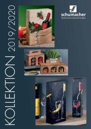 Schumacher-Geschenkverpackungen Katalog 2019-2020