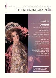 Theater Trier - Theatermagazin - Spielzeit 2019/20