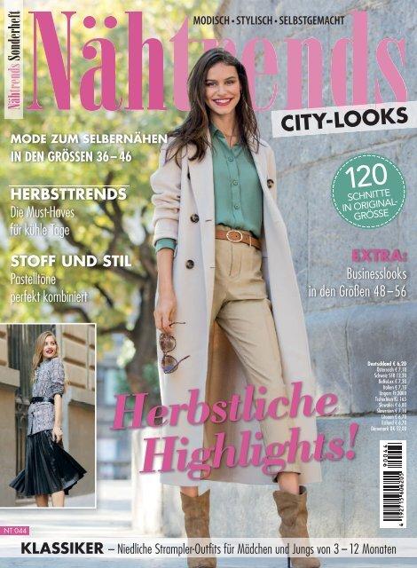 Nähtrends 44/2019 Blick ins Heft