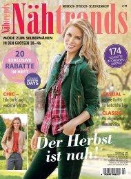Nähtrends 07/2019 Blick ins Heft