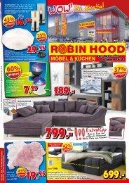 WOW - Möbel und Küchen so günstig! Robin Hood Möben+Küchen, 78166 Donaueschingen