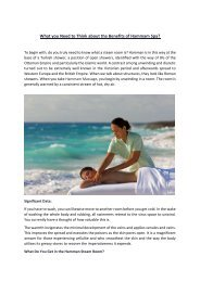 The Benefits of Hammam Spa