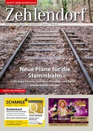Gazette Zehlendorf September 2019