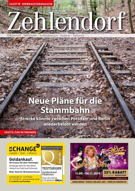 Gazette Zehlendorf September 2019