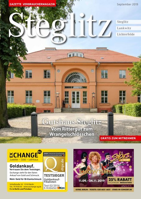 Gazette Steglitz September 2019