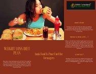 Junk Food Is Poor Fuel for Teenagers