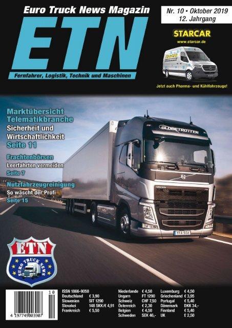 Euro Truck News Digital Nr. 10/2019
