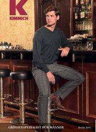Kimmich Mode-Versand | Größenspezialist für Männermode | Herbst 2019