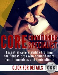 core-training-personal-trainer