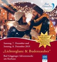 Lichterglanz und Budenzauber_Adventsmarkt Bad Gögging 2019