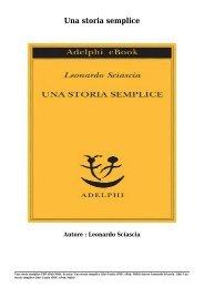 Scarica Una storia semplice Libri Gratis (PDF, ePub, Mobi) Di Leonardo Sciascia