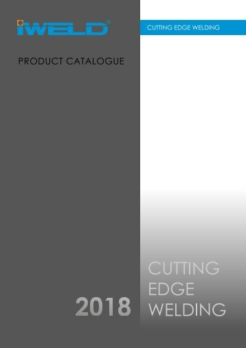 IWELD - Product catalogue - 2018 (EN)