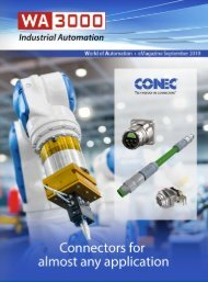 WA3000 Industrial Automation September 2019 - International Edition in English