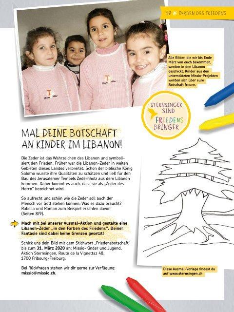 Aktion Sternsingen 2020 Jahrbuch