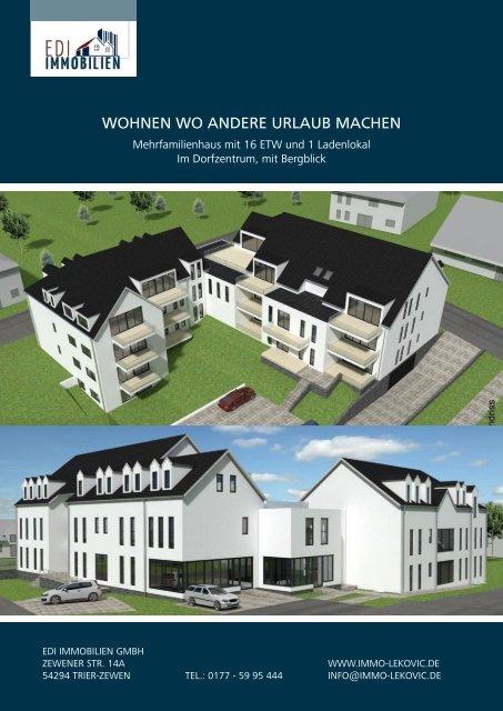 Expose EDI Immobilien - MFH in Langsur